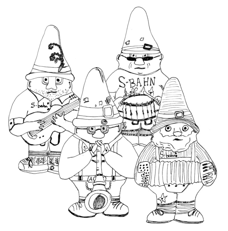 S-Bahn Gnome Band