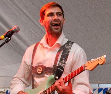 Alex Flock - S-Bahn Band Guitarist